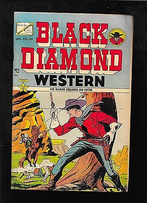Black Diamond Western 53 1954 LEV GLEASON   very good 4.0 small water stain