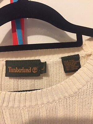 Timberland  lady's / men's Cotton Jumper Size L Guc