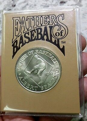 1992 Fathers of Baseball $5 Hutt River Province Coin & Original Packaging L@@K!!
