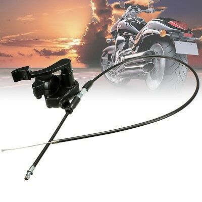 7/8'' Throttle Lever Thumb Controller Assembly & Cable Quard Atv Dirt Pit Bike