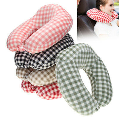Soft Memory Foam U Shaped Travel Pillow Neck Support Head Rest Airplane Cushion