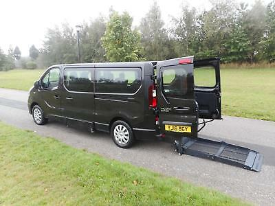 2016 Renault Trafic Business 1.6 Dci LWB 6 SEATS Wheelchair Accessible Vehicle