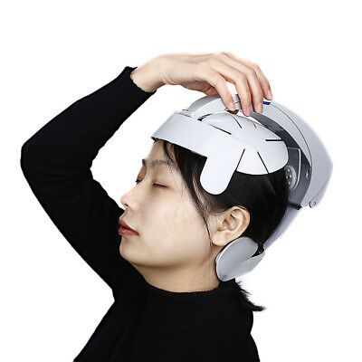 Electric Head Scalp Brain Massager Relax Acupuncture Points Headache Relieve NEW