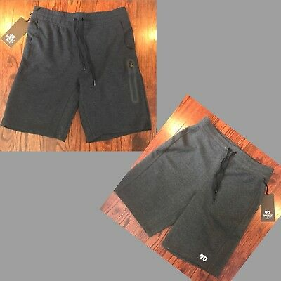 Nwt$39 Men's 90 Degree By Reflex Performance Shorts W/ Zippered Pockets Large