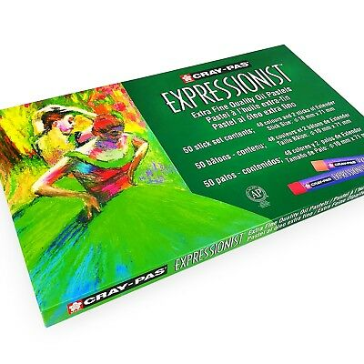 Sakura Cray-Pas Expressionist Oil Pastels – Extra Fine Quality – Pack of 50
