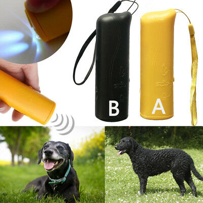 Anti Stop Barking Pet Dog Train Repeller Control Trainer Puppy Device Ultrasonic