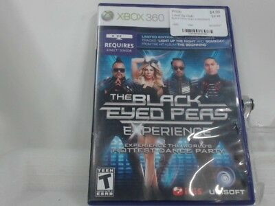 Black Eyed Peas Experience Xbox 360 Complete Cib Acceptable