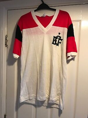 Vintage (1970s/80s) Flamengo Football Shirt / Jersey - 100% Acrylic - Supporters