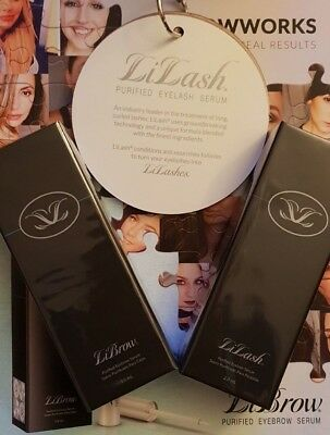 LILASH 100% GENUINE RRP£71 LILASH LIBROW Eyelash Serum DEMI enhancement growth