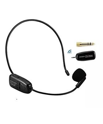 XIAOKOA 2.4G Wireless Microphone 40m Stable Transmission Headset And Handheld 2