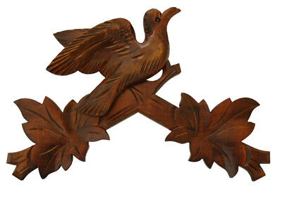New German Made Wood Cuckoo Clock Case Bird Crown - Choose from 5 Sizes!