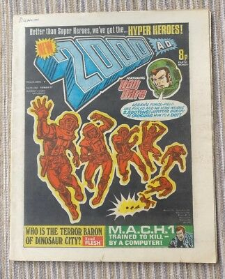 2000AD Programme 4 MARCH 1977 VG+ No rips, tears. Prog 4 2000 AD