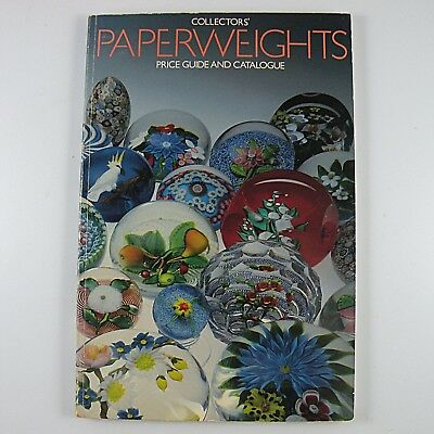 Collectors' Paperweights Price Guide and Catalogue 1983 Selman Paperback