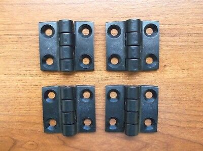 TWO Pairs of Forespar Heavy Duty Marine Grade Marelon Hinges