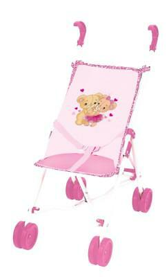Bambolina Buggy Set mit Puppe 5 in 1 Puppenbuggy