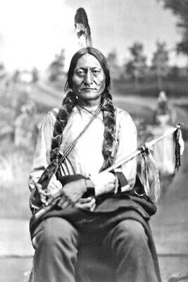 1881 Photo-Sitting Bull-Hunkpapa Lakota Leader- Resisted U.S. Govt. Policies