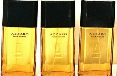 Lot of 4 Pc-AZZARO By AZZARO MEN'S EDT SPRAY 4pc x 1 Oz (Total 120 ml)