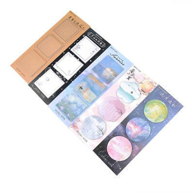 Memo Pads Sticky Notes Cute Paper Notepad Stickers Office School Stationery
