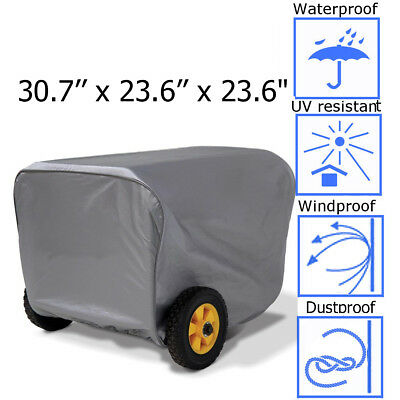 "30.7"" Generator Storage Cover For Champion Portable Weather-Resistant Dustproof"
