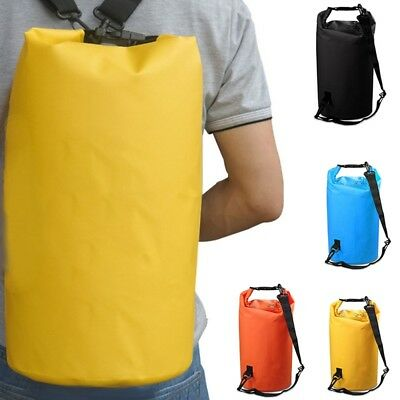 Waterproof Dry Bag 2L 5L 10L 15L 20L Storage Pack Outdoor Sport Beach UK Stock