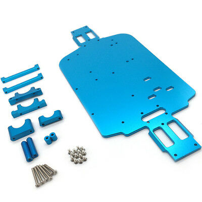 1*Upgrade Metal Chassis Car Bottom For 1/18 WLtoys A959-B A949 A969 A979 K929 AU