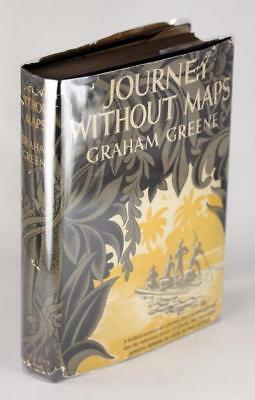 First Edition 1936 Journey Without Maps Graham Greene Hardcover w/Dustjacket