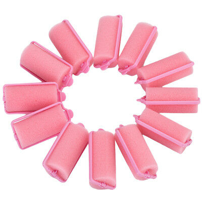 12X Hair Curler Magic Sponge Foam Cushion Hair Styling Rollers Curler Twist Tool