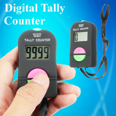 Electronic Digital Up Down Hand Tally Counter Clicker Door Supervisor Security