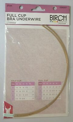 Bra Underwire, FULL CUP 27cm, 1 Pair, Underwire for Bra Replacement, Bra making