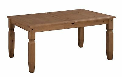 Corona Small Extending Dining Table Solid Mexican Pine by Mercers Furniture®