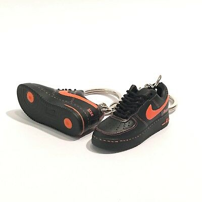 premium selection 83dde 050f9 MADXO * 3D mini sneaker keychain Vlone x nike air force 1 low uv 1:6 scale  09-40