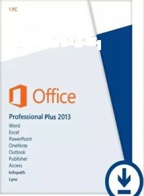 MICROSOFT OFFICE 2013 PROFESSIONAL PLUS - Licenza VOLUME | ORIGINALE | FATTURA