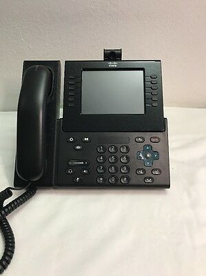 Cisco 9971 CP-9971-C-K9 Unified Color Video VOIP IP Phone+Camera