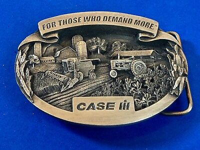 RARE case ih For those who demand more Tractor Farmers belt buckle