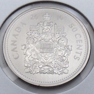 2010 Specimen Canada 50 Fifty Cent Half Dollar Canadian Uncirculated Coin G489