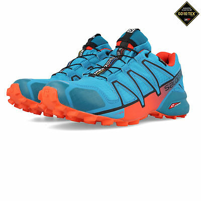 Salomon Mens Speedcross 4 GORE-TEX Trail Running Shoes Trainers Sneakers Blue