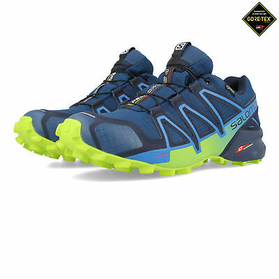 Salomon Mens Speedcross 4 GORE-TEX Trail Running Shoes Trainers Sneakers Green