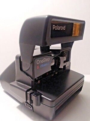 Polaroid One Step Onestep Close Up 600 With Box And Booklets Vintage Mint Cond!!