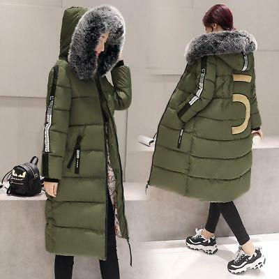 New womens down coat hooded padded jacket parka winter warm outwears Chic 2019 A