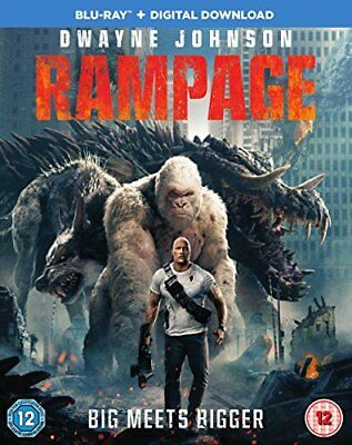 Rampage [Bluray] [2018] [DVD]