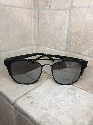 d9f9538ff2 Quay Australia Sunglasses HIGH AND DRY black silver Women s NWT Incl. Soft  Case