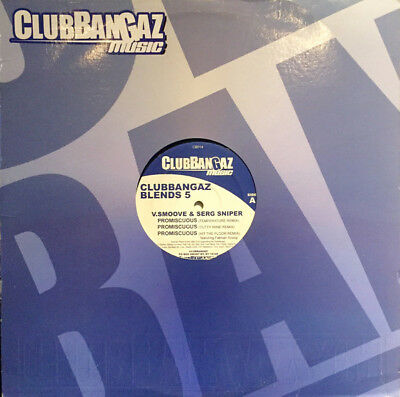 "V. Smoove - Clubbangaz Blends 5 Vinyl 12"" 0715248"