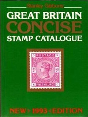 Great Britain Concise Stamp Catalogue By Stanley Gibbons, D.J.  .9780852593479