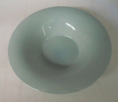 Vernon Kilns California - Powder Blue Serving Bowl - 10 inch diameter on top