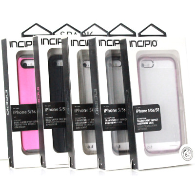 Incipio Dualpro   Octan Pure Clear Shockproof Rugged Case For iPhone SE 5s 5 e06f0d71c1514
