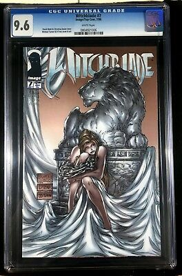 Witchblade (1995) #7 CGC 9.6 Michael Turner cover (0804921006)