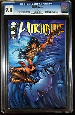 Witchblade (1995) #9 CGC 9.8 Michael Turner cover (0804921008)