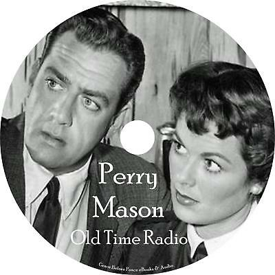 Perry Mason Old Time Radio Show OTR 252 Episodes on 1 MP3 CD Free Shipping
