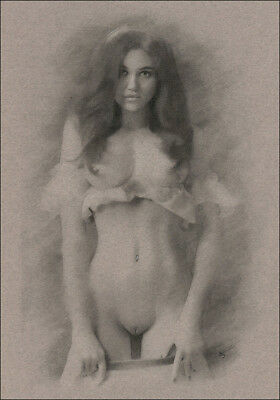 woman undressing nude