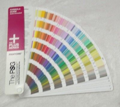 Pantone The PSG Formula Guide Solid Uncoated The Plus Series - Used